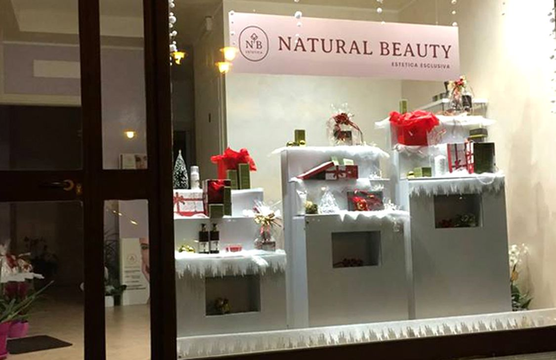 Estetica Natural Beauty - Vetrina